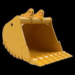 Rockland Severe Duty HIgh Capacity Excavator Bucket